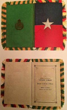 """Capa e introdução do menu do famoso """"Baile da Ilha Fiscal"""", em 9 de novembro de 1889 : Um dos estopins da proclamação da república!"""