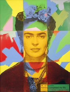 Available for sale from Avant Gallery, Alejandro Vigilante, Frida Kahlo Transfer on wood with acrylic paint, 36 × 33 in Latino Art, Mexican Artists, Historical Art, Art World, Design Art, Cool Art, Art Photography, Illustration Art, Drawings