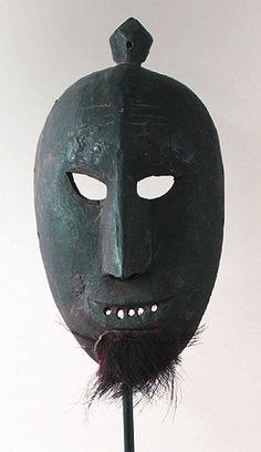 Classic Chinese Nuo Mask from Yunnan, China, masks   -   SHAMAN'S  MASK    YAO  .