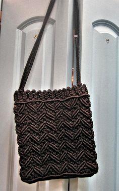 black-macrame-purse-thumb.jpg (634×1022)