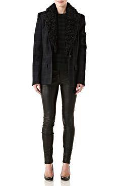 Hall Blazer with Fur Collar | Edition01
