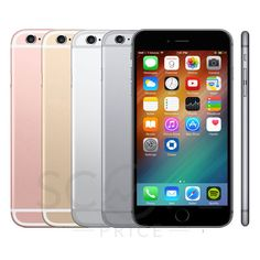 New Apple iPhone 6S Plus (T-mobile) SmartPhone 16/32/64/128GB Space Gray, Silver, Gold, Rose Gold