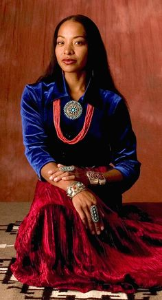 Radmilla Cody (Navajo/African American) was the first biracial Miss Navajo crowned in 1998.