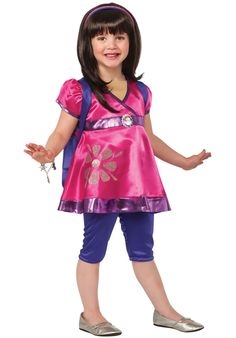 Toddler Dora the Explorer Deluxe Costume - General Kids Costumes at Escapade