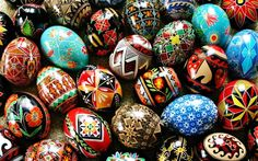 Painted Russian Eggs