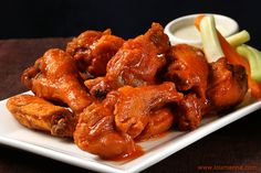 "Just in case you didn't have enough Buffalo wings on Super Bowl Sunday, then dig in to some on this ""Tasty Tuesday""!"
