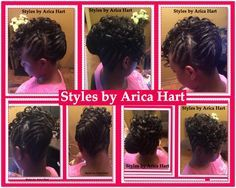 Sewin hair styles - rods , lifted braid hair styles. Protective hair style