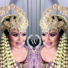 My make up wedding  #makeup #wedding #pengantin #eyeshadow #flawless #traditional #wickkyhalim #dusty #sundasiger