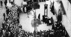The behavior of the crowd was so appalling that public executions were banned immediately thereafter.