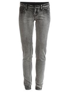 VILILI - 5P SKINNY FIT JEANS #vilaclothes #clothes #jeans #denim #autumn #nice #choralgrey