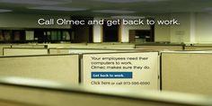 olmec Systems Inc. It Management, Help Desk, Get Back To Work, Organization, How To Plan, Getting Organized, Organisation, Tejidos