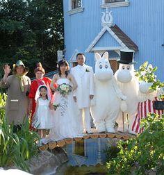 ムーミン ワールド ウェディング Moomin, Comedy, Bird, Animal, Cute, Wedding, Birds, Kawaii, Comedy Theater