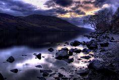 Loch Earn at Sunset, Scotland