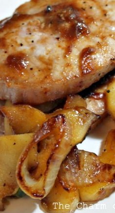 Apple-Stuffed Grilled Pork Chops Recipe