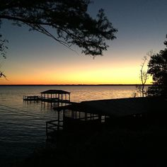 Sunset at Lake Waccamaw. It looks so tranquil after the hurricane.