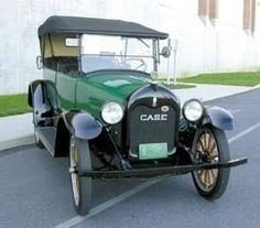 1917 Case 7-Passenger Touring. Case, the same manufacturer that also built agricultural equipment, made automobiles in Racine, Wisconsin from 1911-1925.