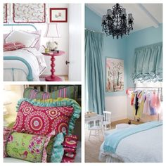 big girl room inspiration board...