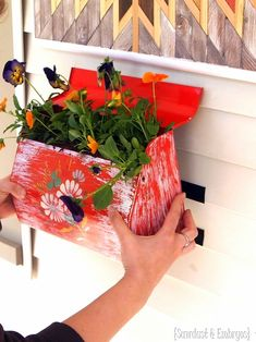 30 Best Mailbox Planter Images In 2019 Mailbox Post