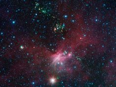 Stars Shoot Jets in Cosmic Playground  http://www.nasa.gov/mission_pages/spitzer/multimedia/pia17018.html  Credit: NASA/JPL-Caltech/University of Wisconsin