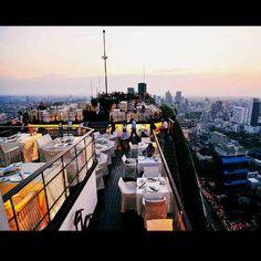 Vertigo bar @banyan tree Bangkok