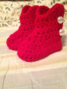 """Red baby boots I found on YouTube search for """"baby boots"""" by bob Wilson. Sorry I can't figure out how to attach video."""