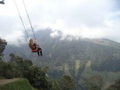 Eine aufregende Reise nach Baños, Ecuador