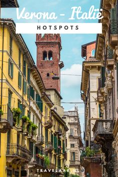 Verona - Italië De mooiste plekken en bezienswaardigheden in Verona, Italië. #Italy #ItalyVacacion #Verona Romeo Und Julia, Italy Travel Tips, Montego Bay, Dream Vacations, Wander, Beautiful Places, Road Trip, Europe, Adventure