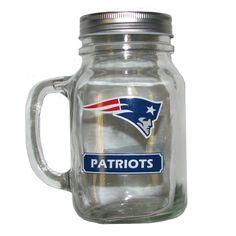 #Patriots Mason Jar Mug