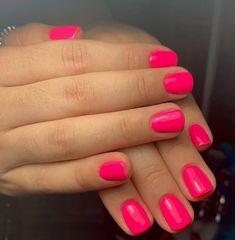 The advantage of the gel is that it allows you to enjoy your French manicure for a long time. There are four different ways to make a French manicure on gel nails. The choice depends on the experience of the nail stylist… Continue Reading → Bright Pink Nails, Colourful Nails, Cute Spring Nails, Spring Nail Colors, Pink Summer Nails, Summer Colors, Wedding Nail Polish, Nagellack Trends, Gel Nail Colors