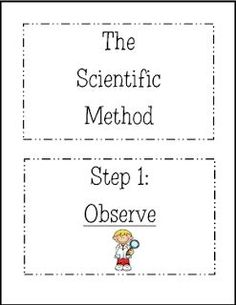 Scientific Method Worksheet: FREE! White's Workshop