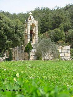 LEBANON, AKKAR, Saint Arthemis covent - Qobayyat