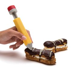 Cutest and useful tool for creative decorating of birthday cakes, cookies, pancakes & more.