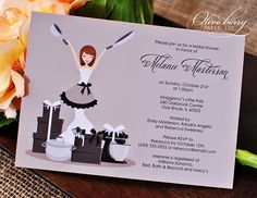 Bridal Shower Invitations, Kitchen Bridal Shower
