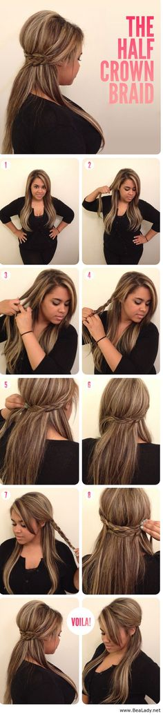 15 Easy-To-Make Braids Tutorials for you ladies