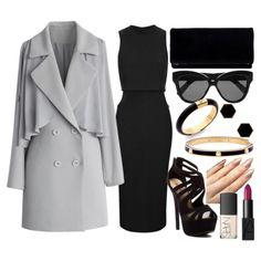Black, Gold & Grey