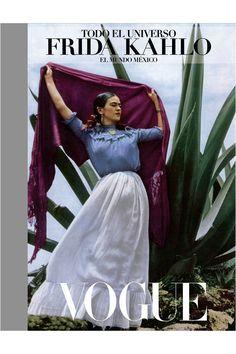 Nuevo libro Todo el universo. Frida Kahlo: el mundo México de Museo Frida Kahlo Vogue Mexico