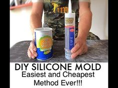 DIY Silicone Mold - Easiest and Cheapest Method Ever - Easy Silicone Mold Making Fertilizer For Organic Gardening Refferal: 9051197051 Diy Resin Mold, Resin Molds, Resin Art, Ice Resin, How To Make Silicone, Diy Silicone Molds, How To Make Molds, Hand Molding, Diy Molding