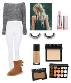 """""""Casual Christmas Eve"""" by becky-robertson ❤ liked on Polyvore"""