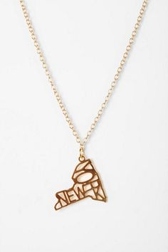 Kris Nations State Charm Necklace     This is exactly what I've been looking for! I need it!