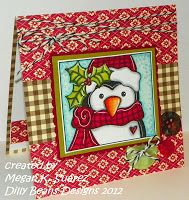 Dilly Beans Stamps Winter Christmas, Christmas Cards, Dilly Beans, Digital Stamps, Diy Cards, Mixed Media Art, Holiday Decor, Frame, Crafts