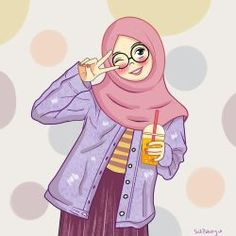 by ayusufaah on DeviantArt Cartoon Drawings, Cartoon Art, Hijab Drawing, Girl Cartoon Characters, Islamic Cartoon, Anime Muslim, Hijab Cartoon, Islamic Girl, Cute Girl Wallpaper
