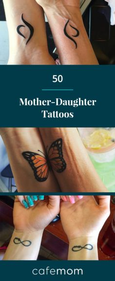 The bond between a mother and daughter is so special, and when someone is lucky enough to have a really close relationship with her mom, why not go ahead and celebrate it with a gorgeous mother-daughter tattoo? Here's 50 tattoo ideas. Via: Orchardcitytattoocompany/Instagram, tiannarae11/Instagram, mermaid_love94/Instagram