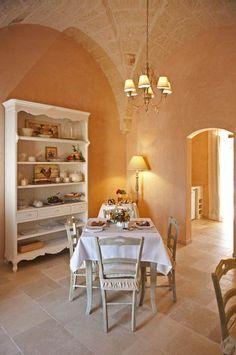 Puglia Italy, B & B, French Country, Shabby Chic, Presto, Stella, Flooring, Interior Design, Table