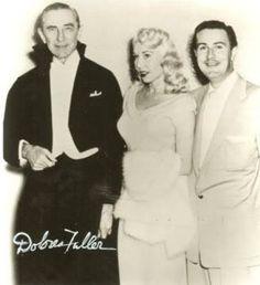 Bela Lugosi, Dolores Fuller and Ed Wood