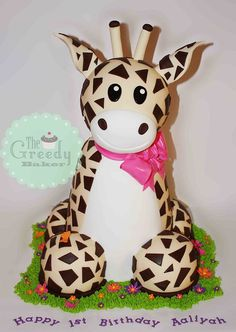 giraffe cake. This is adorable!!!