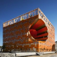 The Orange Cube by Jakob   Macfarlane  *Note* Love the concept - not the execution of the concept