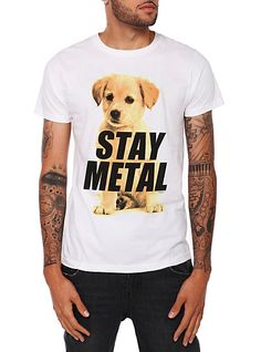 Miss May I Stay Metal Puppy T-Shirt   Hot Topic