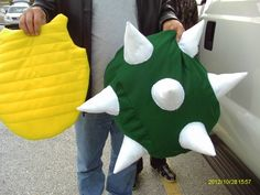 Bowser shell; Halloween Costume!