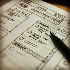 #wireframes #ux