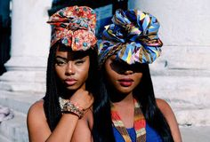 BLACK FASHION African head wraps. Embracing the African culture.